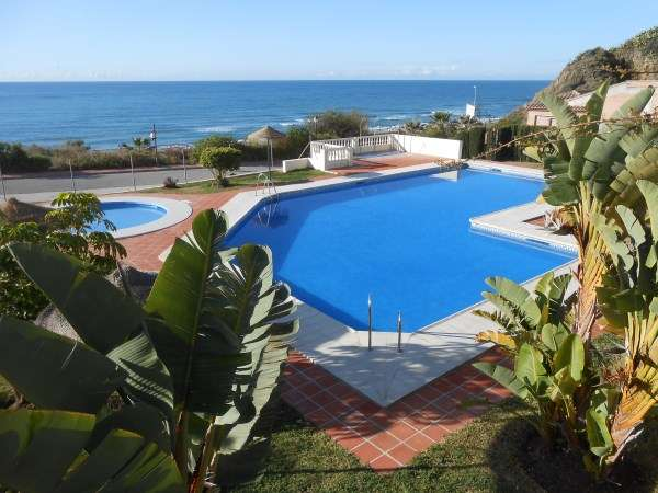 holiday rentals and accommodationlovely Communal Pool apartment Torrox Beach club rentals apartments Villas south facing terrace BBQ Terrace