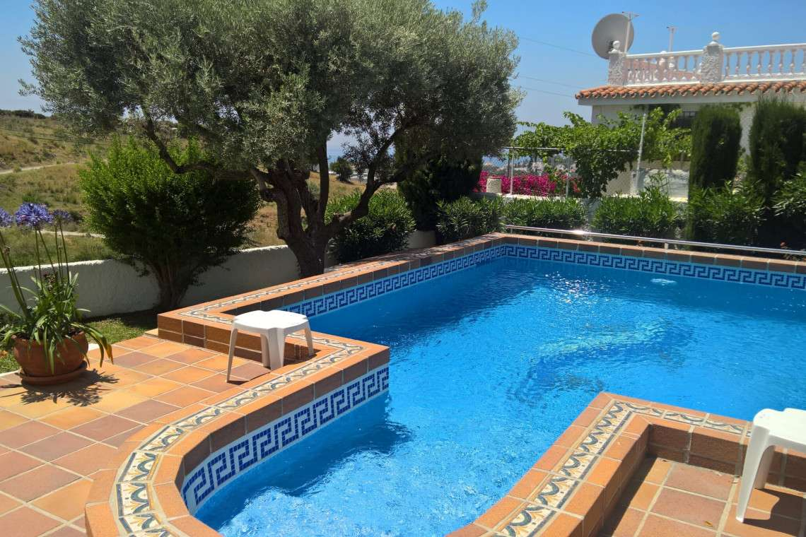 Heated Pool Nerja four Bedroom Villa