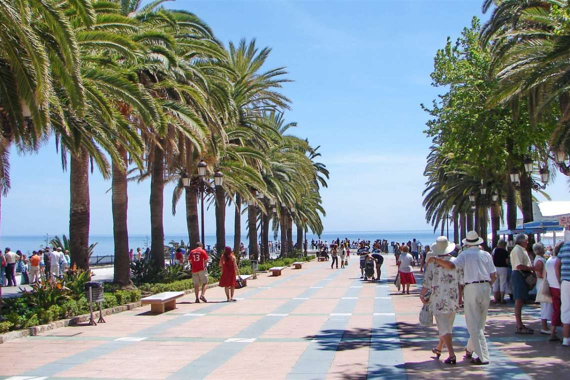 Nerja jewel of the Costa Del Sol also has playa Burrana great holiday resort