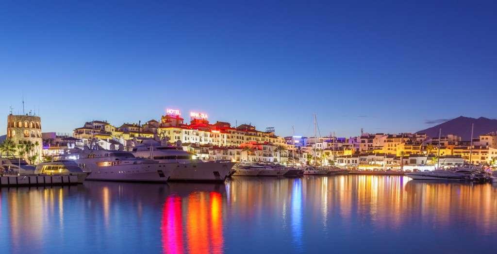Marbella Puerto Banus jet set resort of Spain