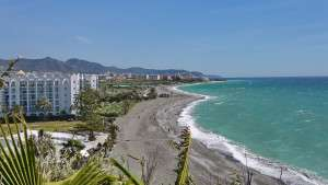Punta Lara urbanisation and Villa El Paso overlooks Playazo Beach