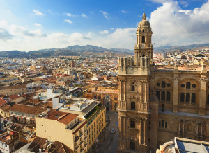 Malaga Cathedral Southern Spain