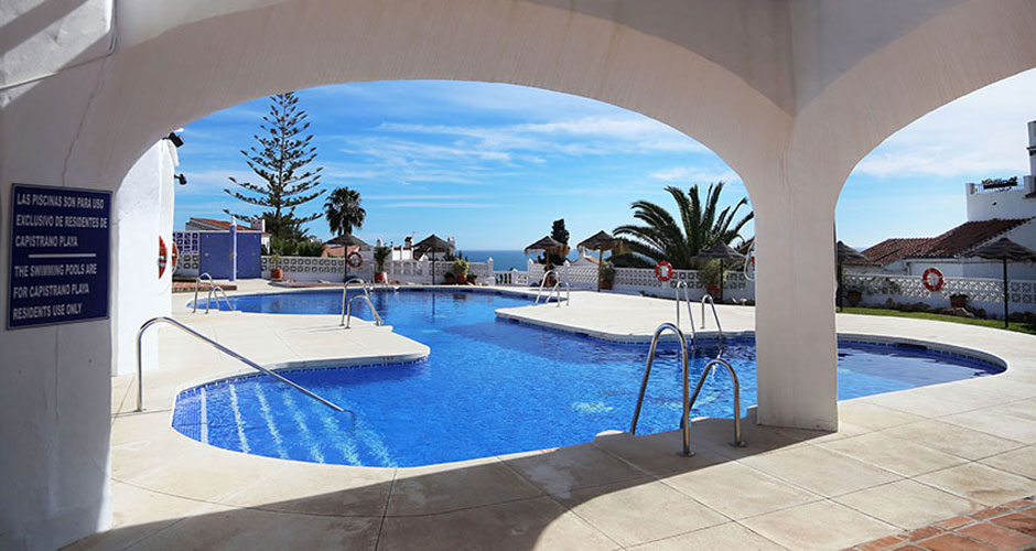 Playa Capistrano 1 bedroom with a large terrace