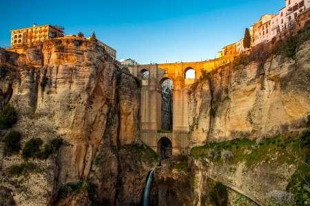 Spain Andalucia Malaga Nerja Costa Del Sol