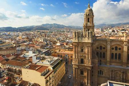 Wonderful city of Malaga