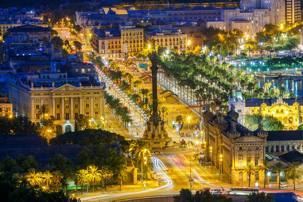 Trips tours excursions in Barcelona. Barcelona is a global city